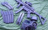 武器照片:還記得經典的MP5微型衝鋒槍嗎,滿滿的年少回憶
