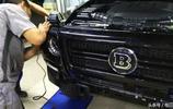 33萬買輛北京BJ80,提車當天就去改裝中網和大燈,復刻奔馳巴博斯