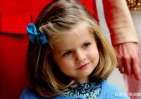 西班牙萊昂諾爾公主童年照曝光,原來從小美到大是這個樣子的!