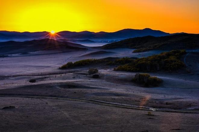 風景圖集:壩上草原的美