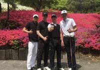 「2PM」「分享」170504 燦盛忙裡偷閒的高爾夫愛好者 今日繼續與高爾夫相伴