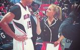 NBA亞特蘭大老鷹隊跟隊記者Rebecca Harlan