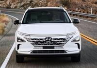 現代新能源車型Nexo:充氣5分鐘續航600km,新車攜滿身黑科技