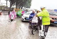 暴雨突襲 福州城區聯排聯調 20處積水點快速消退