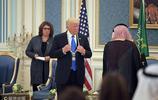 沙特國王向美總統特朗普授予阿卜杜勒-阿齊茲勳章