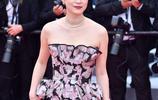 黃璐現身戛納紅毯,大花禮服扎眼,參演影片曾獲歐洲電影節大滿貫