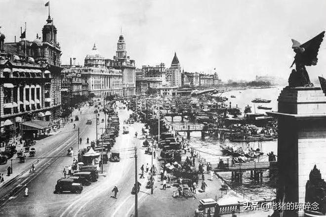 民國時代老照片,圖1十里洋場交易舞娘,圖6小販街邊賣虎皮