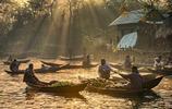 孟加拉的水上市場