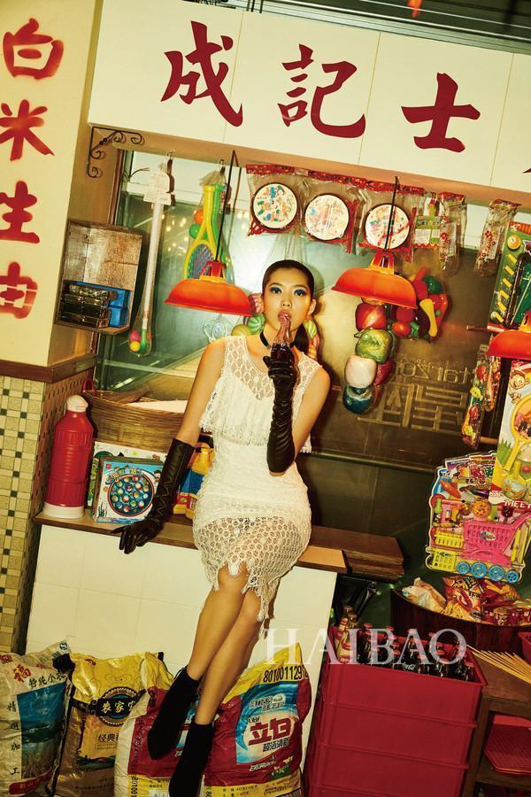 沉浸在廣州舊時光裡!超模Jessie Hsu演繹OU.2017夏季大片