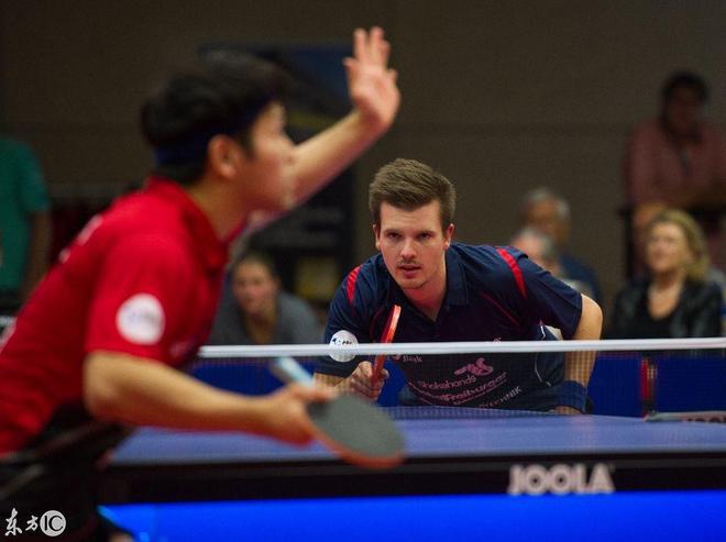 德甲乒乓球男單:觀賞性和中國沒法比,乒乓球只服中國!