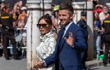 笑我就輸了!貝克漢姆夫婦出席拉莫斯婚禮 維多利亞冷麵如機器人