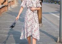 穿不慣高跟鞋,但很喜歡穿裙子,夏天如何搭配裙子和平底鞋更好看,求指導?