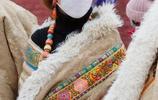入冬的藏族美女