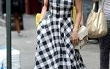 小個子女生把連衣長裙穿對了,比穿短裙還顯高顯氣質!