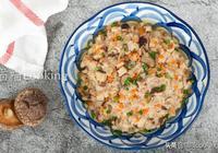 香菇蒸肉餅,跟著我這樣做,蒸好的肉餅鮮嫩多汁,好吃