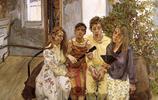盧西安·弗洛伊德油畫作品