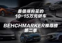 10~15萬元最值得購買的轎車丨Benchmarker推薦榜·第二季