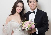 郎朗婚後攜妻首秀,25歲混血嬌妻一襲印花裙美得高級出眾,配一臉