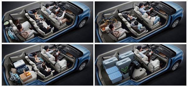 1.5T+1.8T四種動力,嘉際2+3+2車型到店,不到十萬買全家移動套房