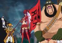 海賊王:三位能力者軍隊長,茉莉曾經是海賊,在推進城創造了樂園