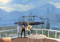 玩家用無人機,挑戰夏爾鎮的直升機,發起第一場的空戰