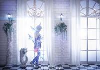 英雄聯盟元素天使拉克絲cosplay