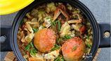 熱氣騰騰一大鍋秋蟹,鮮香爽滑,簡直不要太好吃