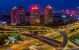 濟南燕山立交橋夜景