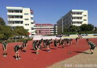 興國中隊紮實開展體能訓練