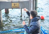 """京密引水渠開始向北京城區正向輸水 溫度計出水即成""""冰棍"""""""
