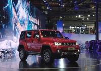 2019上海車展:BJ40城市獵人版售17.48萬起