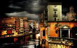 風景圖集:美麗的西班牙赫羅納風景