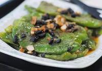 豆豉虎皮青椒:青椒的另類吃法