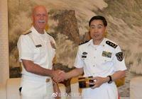 中國海軍司令晤美太平洋艦隊司令 談南海問題