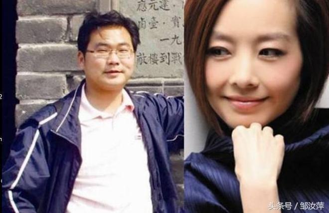 陳魯豫與兩任丈夫,近照的她變化太大了