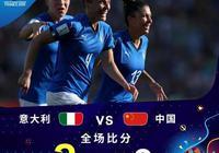 中國女足0:2不敵意大利,無緣世界盃8強,你覺得這場比賽中國隊輸在哪裡?