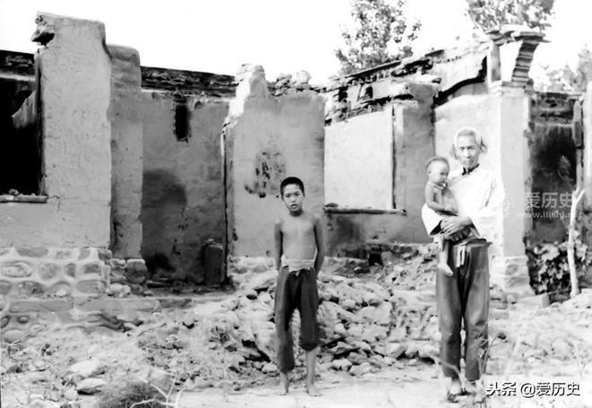 美國記者拍下三光政策掃蕩後的慘狀 以事實回擊了日軍狡辯
