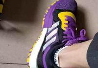 adidas Marquee boost湖人配色上腳好看嗎