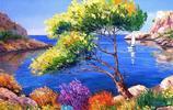 這位畫家筆下的風景油畫猶如童話世界般絢麗,想去普羅旺斯了!