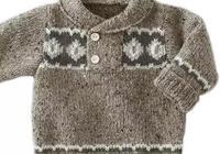 一堆簡單的兒童毛衣編織款式圖片欣賞