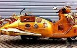 大叔打造大排量摩托車,卻從來不為油費發愁
