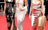 鞏俐早期一襲改良式旗袍與兩歐美女星走紅毯,身材和氣場都不輸!