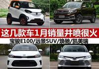 這幾款車1月銷量大增,最高漲102倍,有款還供不應求,你買了嗎?