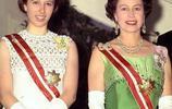 英國女王的女兒安妮公主,曾經美豔絕倫,可愛又霸氣