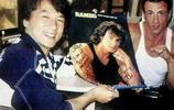 老照片:娛樂圈的珍貴合照,邁克爾傑克遜穿古裝,成龍史泰龍合照