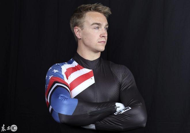 美國奧林匹克冬季運動會,塔克·韋斯特為何擺出一副肖像?