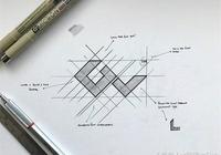 logo設計·分享一組設計師的logo設計草稿