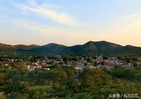 原創攝影|日落時分的淮北南山村,美極了