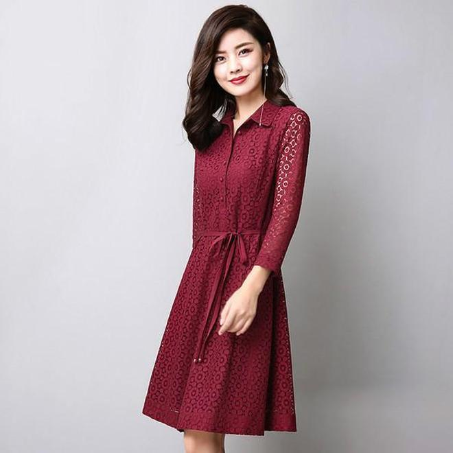 甘甘的世界連衣裙高端優雅顯氣質,第六件圓領盤扣收腰裙很中國風