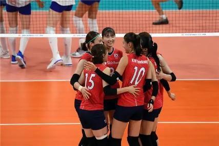 韓國女排與韓國女足,雙雙出局